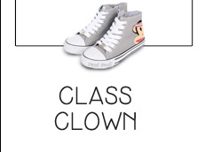 Paul Frank Monkey Detail Kids Sneakers