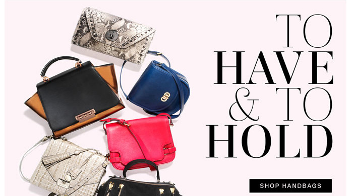 To Have & To Hold. Shop Handbags.