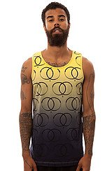 The King Snake Sigil Tank Top in Yellow