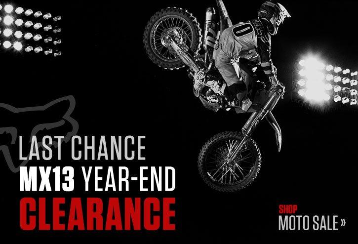 MX13 Clearance - Shop
