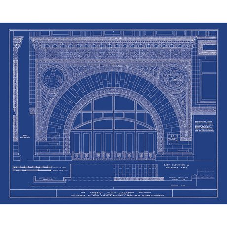 Louis Sullivan // Chicago Stock Exchange