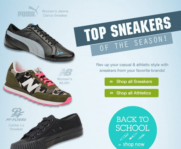 The Top Sneakers Of The Season Are...