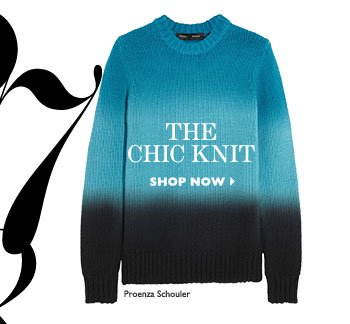 THE CHIC KNIT. SHOP NOW