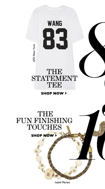 THE FUN FINISHING TOUCHES. SHOP NOW