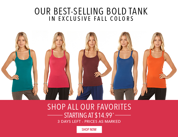 Your favorites are back in new colors (Plus, now on sale!)