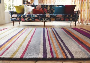 Colorful Comfort: Harlequin Rugs