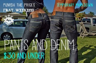 Pants & Denim $30 Under