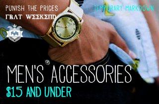 Men's Accessories $15 & Under