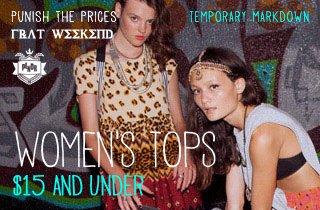 Women's Tops $15 & Under
