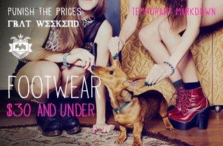 Footwear $30 & Under