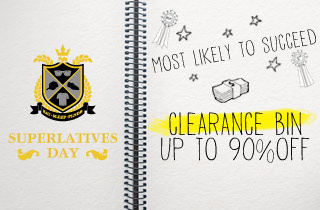 Clearance Bin Up To 90% Off