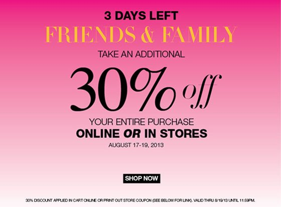 3 Days Left - Take An Additional 30% Off!