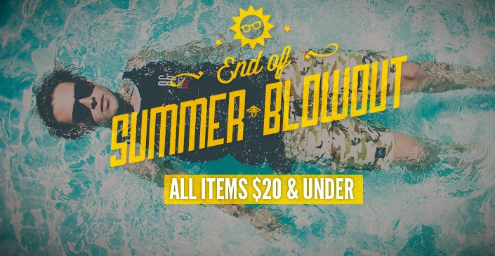 Click to Shop End of Summer Blowout: $20 or less
