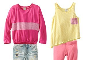After-School Style: Tops & Bottoms
