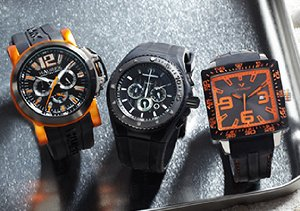 Black Out: Watches & Jewelry