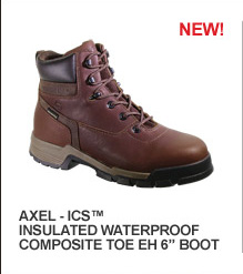 Axel ICS Insulated Waterproof Composite Toe EH 6""