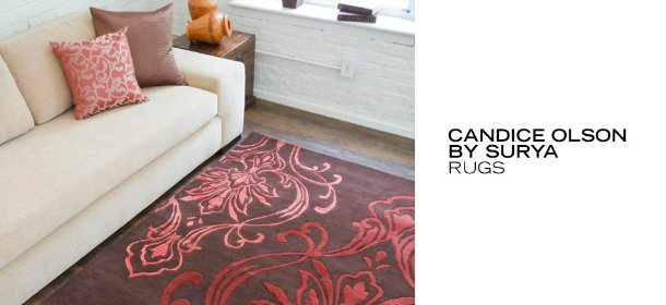 CANDICE OLSON BY SURYA: RUGS, Event Ends August 22, 9:00 AM PT >