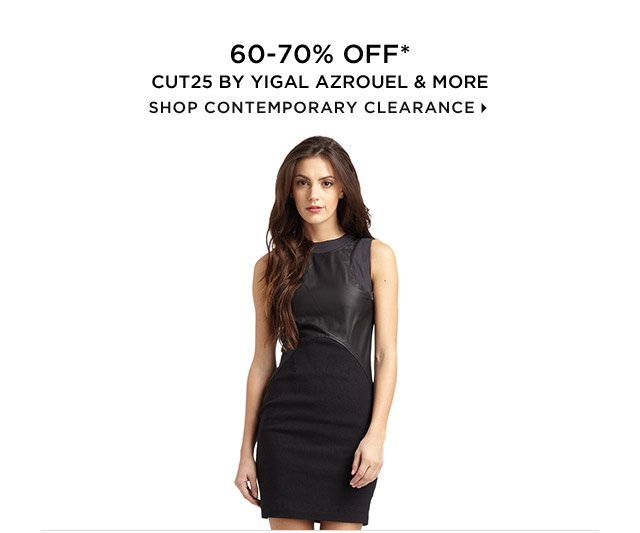 60-70% Off* Cut25 by Yigal Azrouel & More