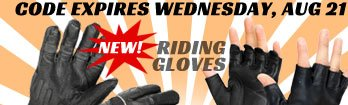 Save on New Riding Gloves for Summer