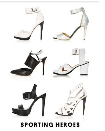 Sporting heroes - Shop sporty heels