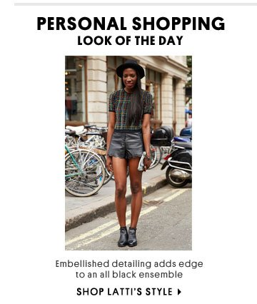 Personal Shopping look of the day - Shop Latti's style