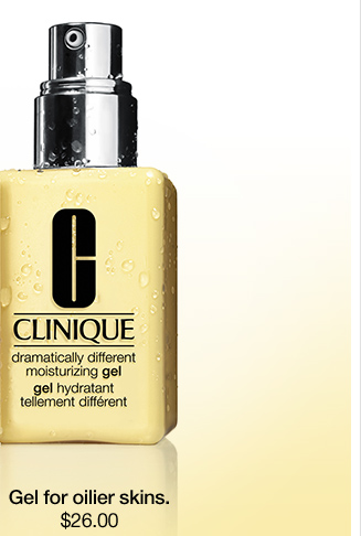 Gel for oilier skins. $26.00