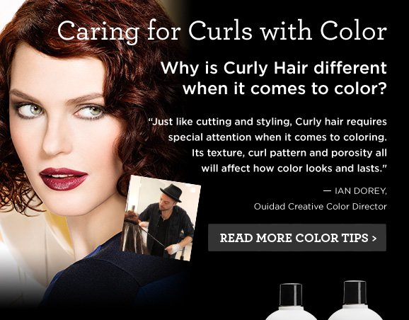 Caring for Curls with Color