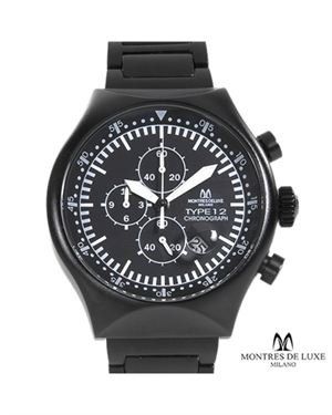 Brand New MONTRES DE LUXE MILANO Made In Italy Aluminium Watch