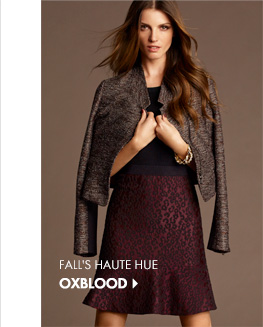 Fall's Haute Hue OXBLOOD