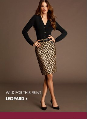 Wild For This Print LEOPARD