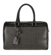 1-Saint-Laurent-Duffle-6-Studded-Leather-Bag-2790