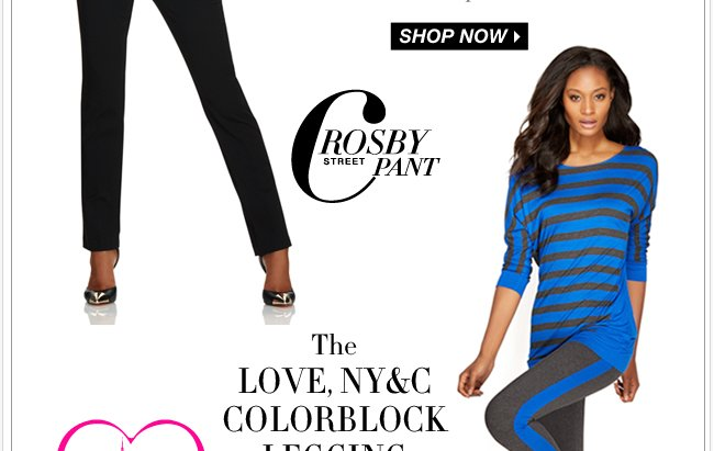 Shop our NEW Love NY&C pants & leggings!