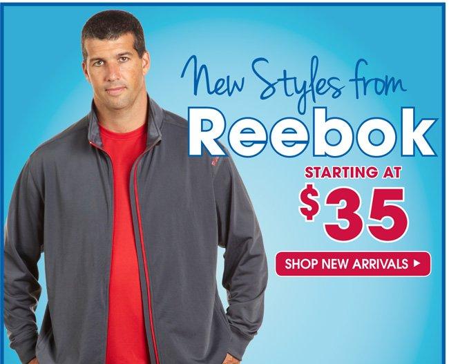 Reebok New Arrivals