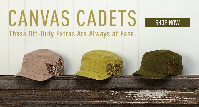 Canvas Cadets - Shop Now