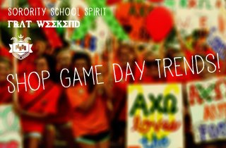 Shop Game Day Trends!