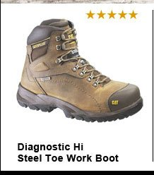 Diagnostic Hi Steel Toe Work Boot