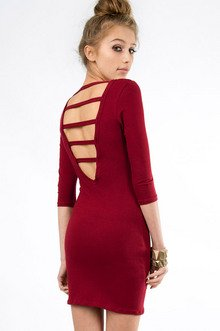 SUNNY STRAPPY BACK DRESS 25