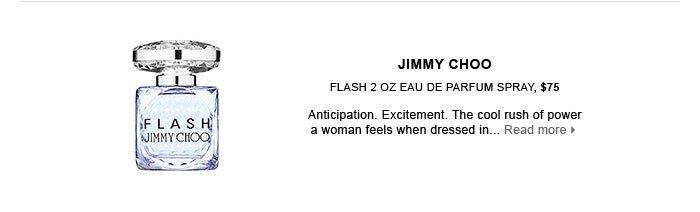 JIMMY CHOO. Flash 2 oz Eau De Parfum Spray, $75. new . ships for free