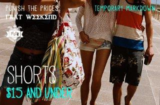 Shorts $15 & Under