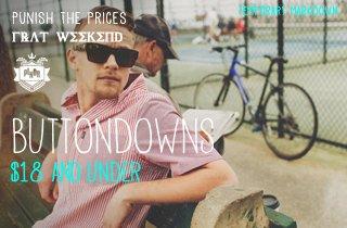 Buttondowns $18 & Under