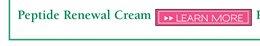 Peptide Renewal Cream
