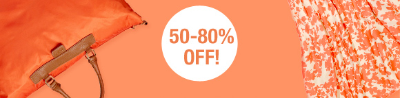 50-80% OFF!
