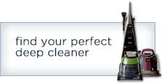 find your perfect deep cleaner