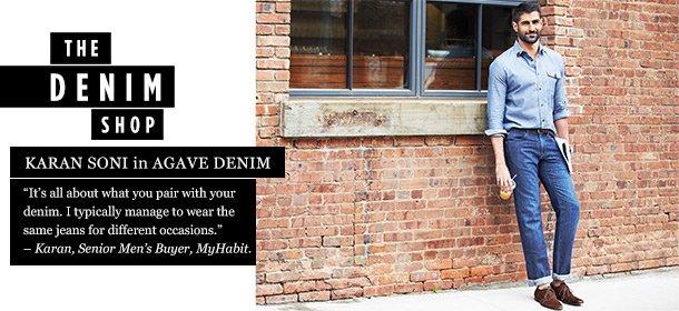 THE DENIM SHOP: AGAVE DENIM, Event Ends August 22, 9:00 AM PT >