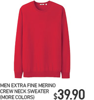 MEN EFM CREW NECK SWEATER