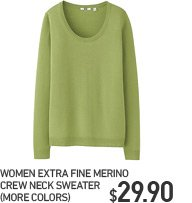 WOMEN EFM CREW NECK SWEATER