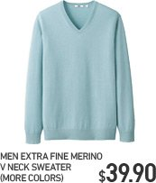 MEN EFM V NECK CARDIGAN