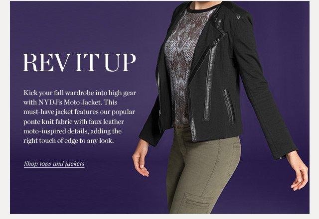Rev it Up | Shop Tops & Jackets