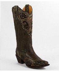 Corral Pieced Cowboy Boot