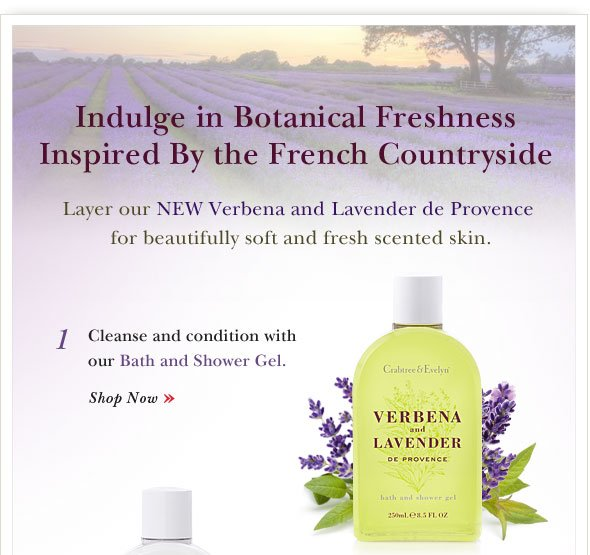 Indulge in Botanical Freshness Inspired By the French Countryside.